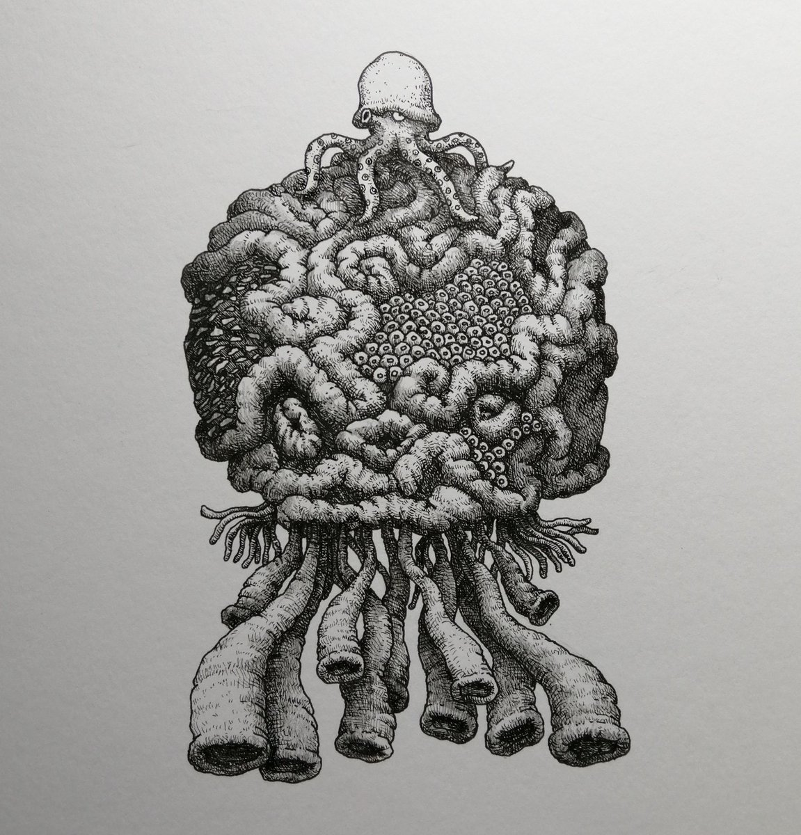 #blackinkart #character #characterdesign #comic #coral #drawing #fantasy #illustration #ink #inkillustration #inking #inktober #inktobercoral #inktober2020 #inktober2020coral #inktober52 #manga #monster #pencildrawing #staedtler #イラスト #キャラクター #珊瑚 #漫画 #일러스트 https://t.co/aUgLT3IlV1