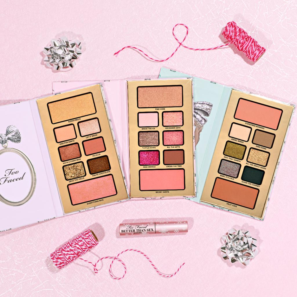 Capture the beauty of Christmas with our NEW Enchanted Wonderland Set!🎁 It includes 3 breakaway palettes packed with 6 eye shadows & 2 face palettes and a travel sized Better Than Sex Mascara wrapped in the cutest snowflake packaging! Shop here: https://t.co/If55LprW32 #toofaced https://t.co/6IFjjQM7Il