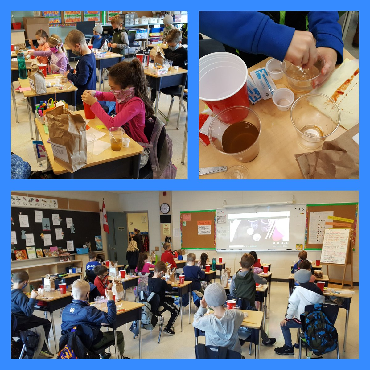 """Scientists at work... learning that """"Properties Really Matter!"""" @JBoltonps @Sci_in_School https://t.co/mh2CTLxFYM"""