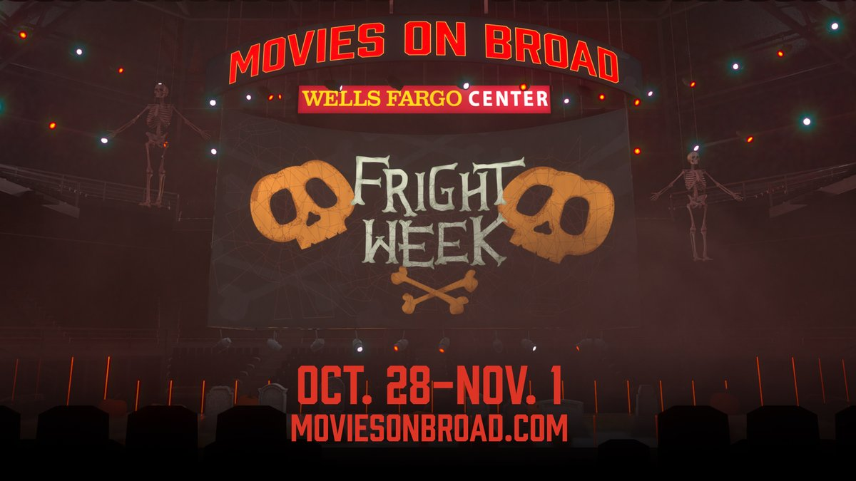 Put some fright in your movie night!  Wells Fargo Center is transforming into an immersive haunted experience with Halloween movies on our massive 4K LED scoreboard. Limited tickets are available now.  🎟️» https://t.co/tVcpikFEUQ https://t.co/Ms1bRs9xUY