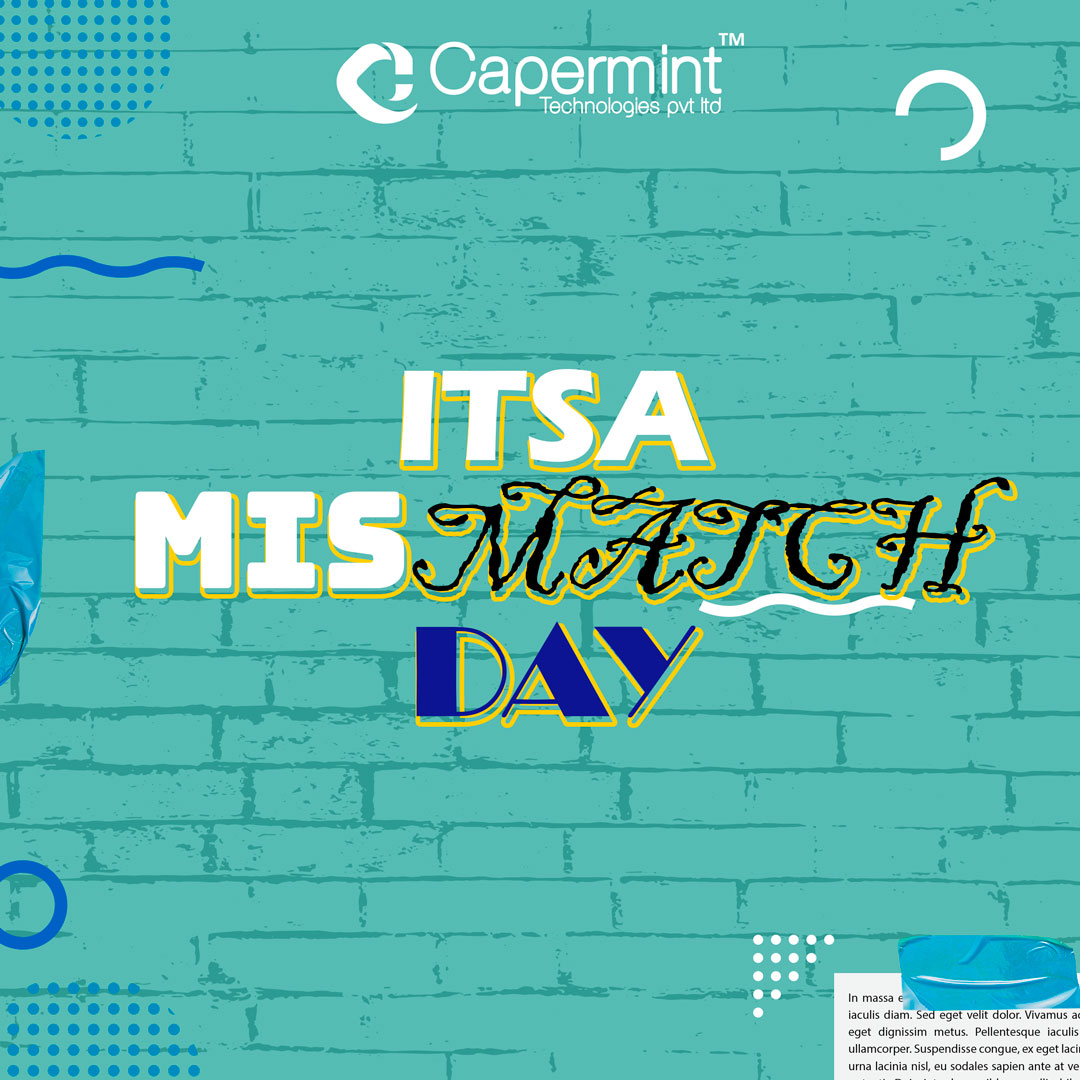 We have celebrated day 1 with #mismatch day with perfectly imperfect attires.   It was a fascinating and amusing #experience with #crazy faces and weird outfits.  #CapermintDays2020 #officeculture #officecelebration #officevents https://t.co/qlkylLnvxe