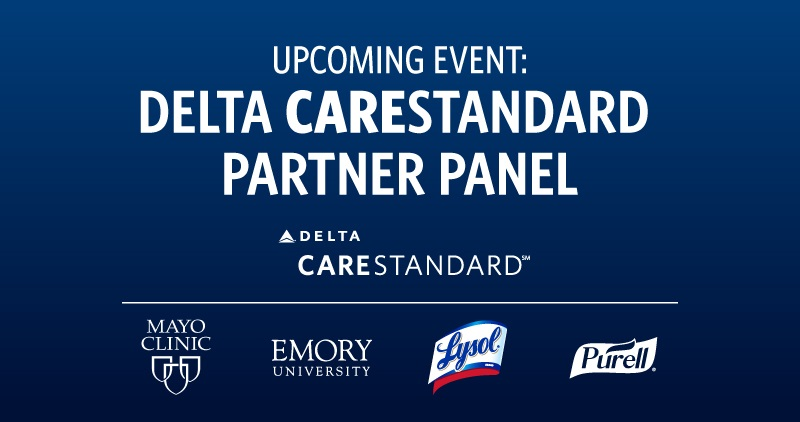 Don't forget to tune in at 12:30 ET on Facebook Live to watch as @Delta hosts a panel discussion, moderated by the founder and CEO of @ThePointsGuy, to ensure you have all the information you need when you decide to travel. https://t.co/z7u12tBC24 https://t.co/L5Q65tf37b
