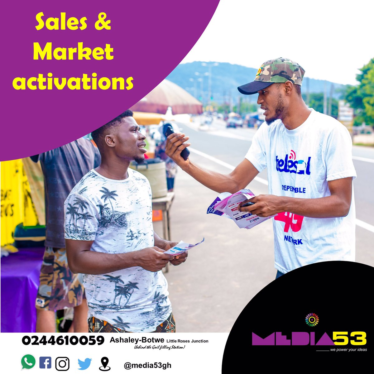 Let us help you sale your brand and products                               #Media53gh   #ghanawedding   #GhanaNews   #media   #productions    #events https://t.co/W8gwCCG0VE