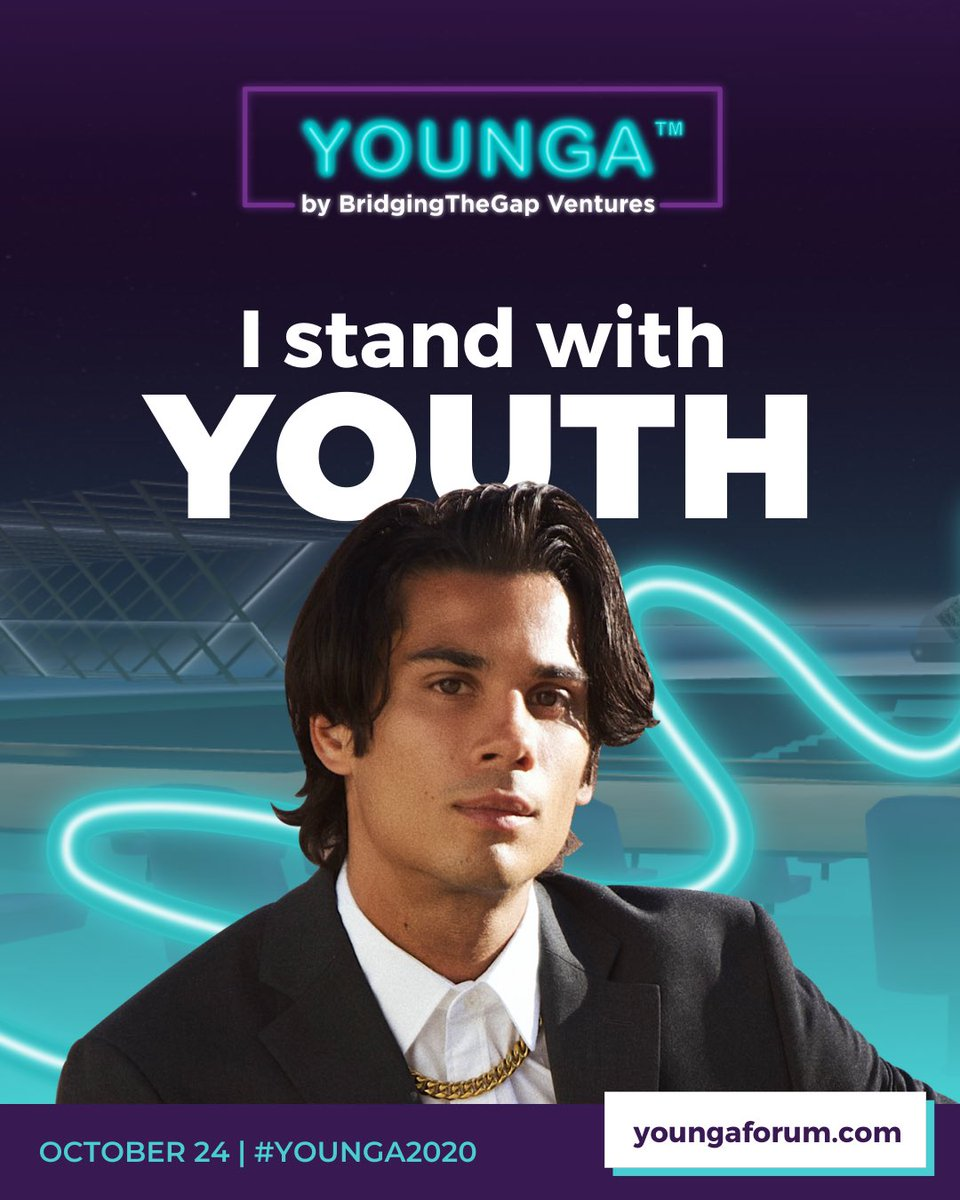 Attention #YoungLeaders—I'll be giving a presentation on Representation and Inclusivity at the @btg_ventures 's #YOUNGA Global Forum on Oct 24th. It's a UN global youth takeover and largest-scale VR event to date. Join me! Secure your seat at https://t.co/5C7NydZNag https://t.co/AUUXXWIKwr