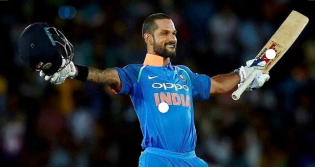 2nd century by Dhawan in the current IPL season