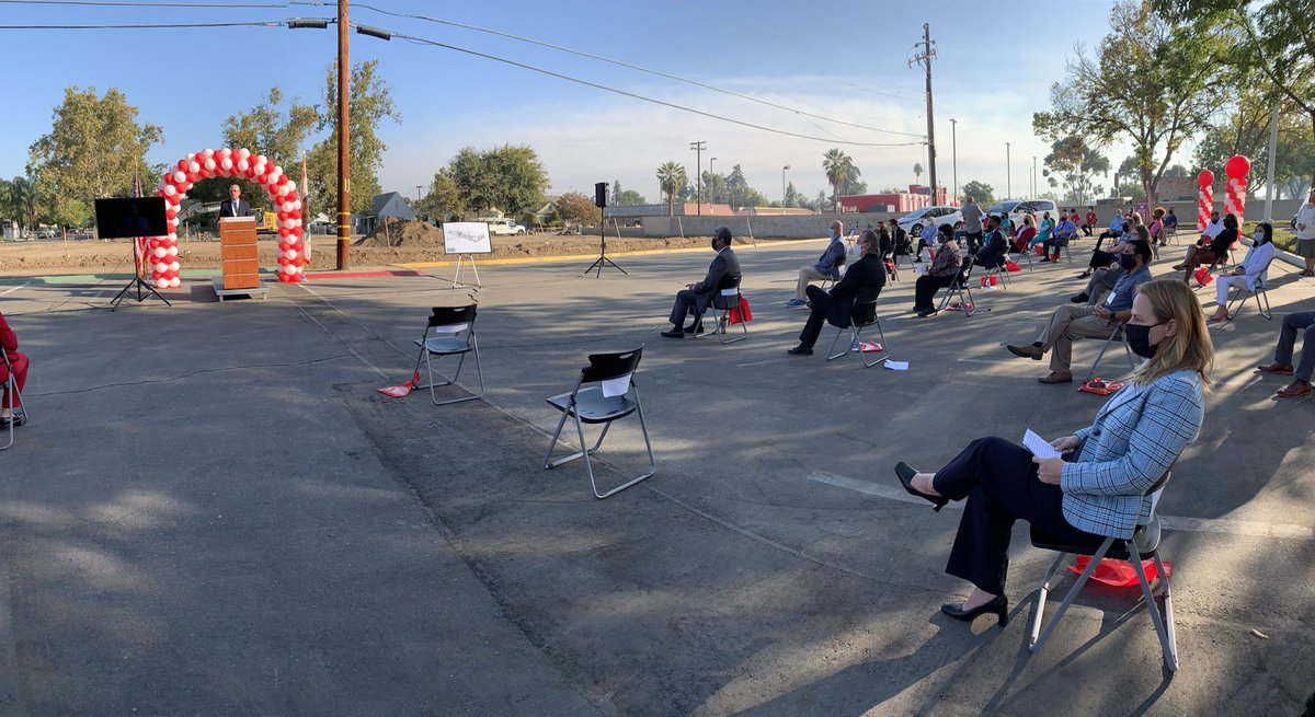 Virtual ground breaking today for a new parking structure @fresnocity.  @ABC30 https://t.co/bev1ErCKBL