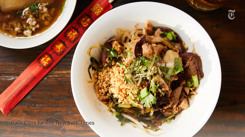 Once a rare weekend treat, these Thai noodles can now be yours every day nyti.ms/2FOGN3o