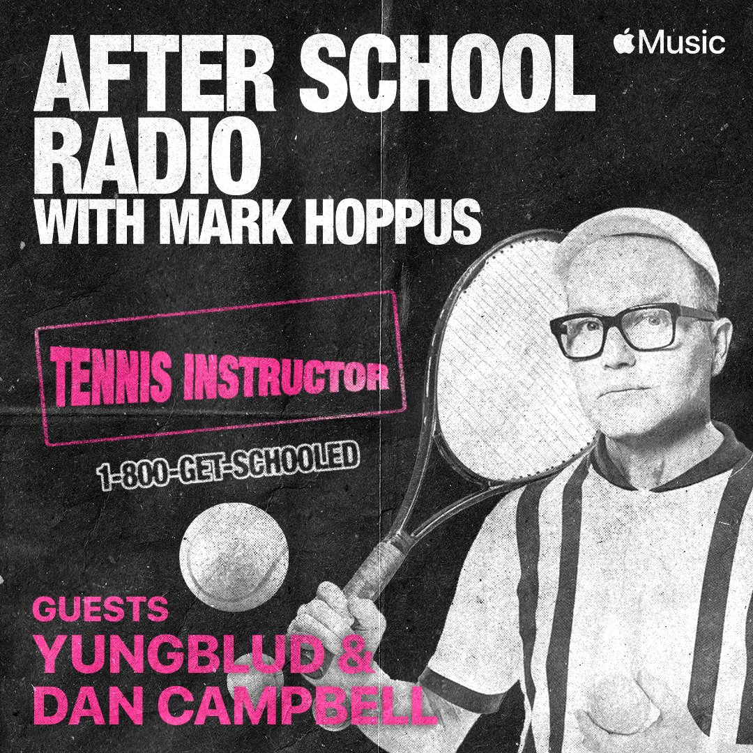 Tune in at 10am pst to catch @headabovewater (Dan Campbell) on #AfterSchoolRadio with @markhoppus ! Listen live on @AppleMusic  at