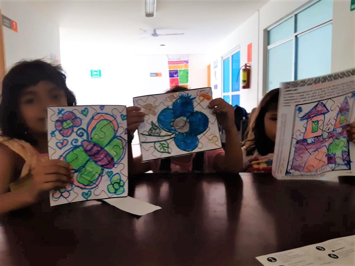 Ante la crisis por #COVID19, es muy importante asegurar el bienestar emocional de niñas, niños y adolescentes que se encuentran en albergues de México. #AnteTodoSonNiños