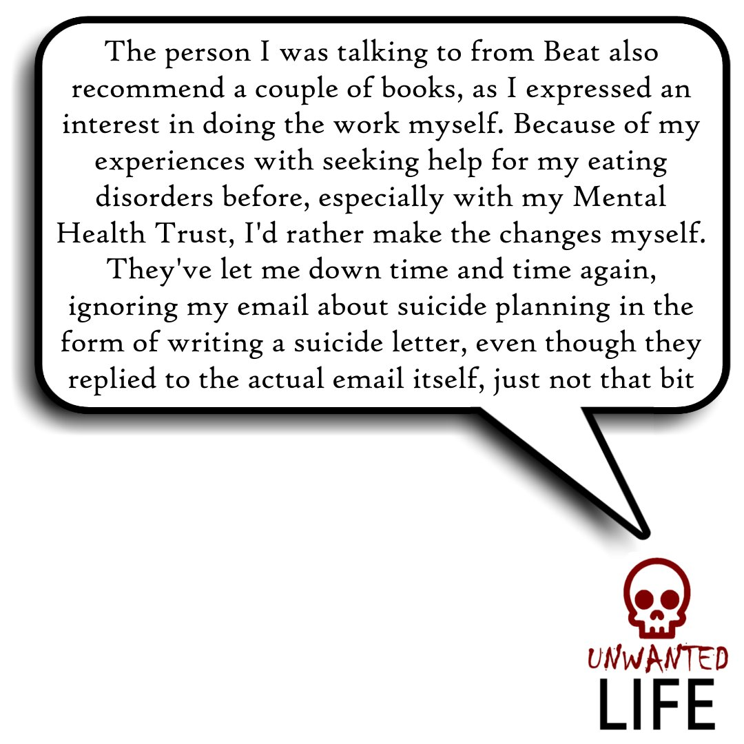 Beat: How Their Eating Disorders Web Chat Works  Beat offer support for people who suffer from, or suspect they might suffer from, an eating disorder. One of their resources is live web chat  https://t.co/ctsHh1vL0d  @beatED #MentalHealth #SickNotWeak #MHealth #WritingCommunity https://t.co/jZRoHgaAg4