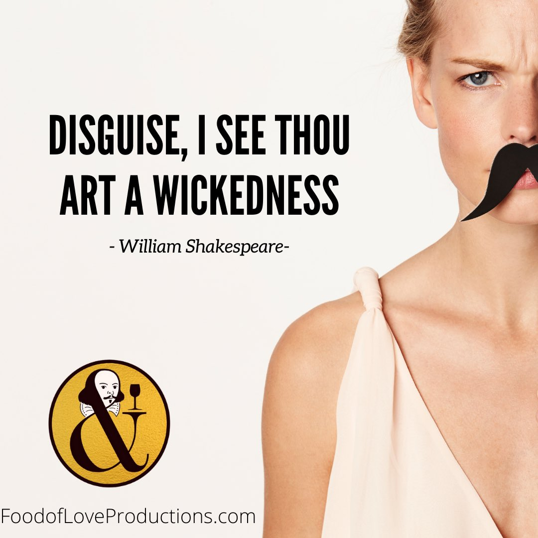 Viola disguises herself in garments similar to her brother and finds herself falling for the lord she serves. Will they find love or will this wickedness prevent her success? https://t.co/RiB9itC2wf   #foodofloveproductions #Shakespeare #shakespearequotes #disguise #theatre https://t.co/q3K12tFevk