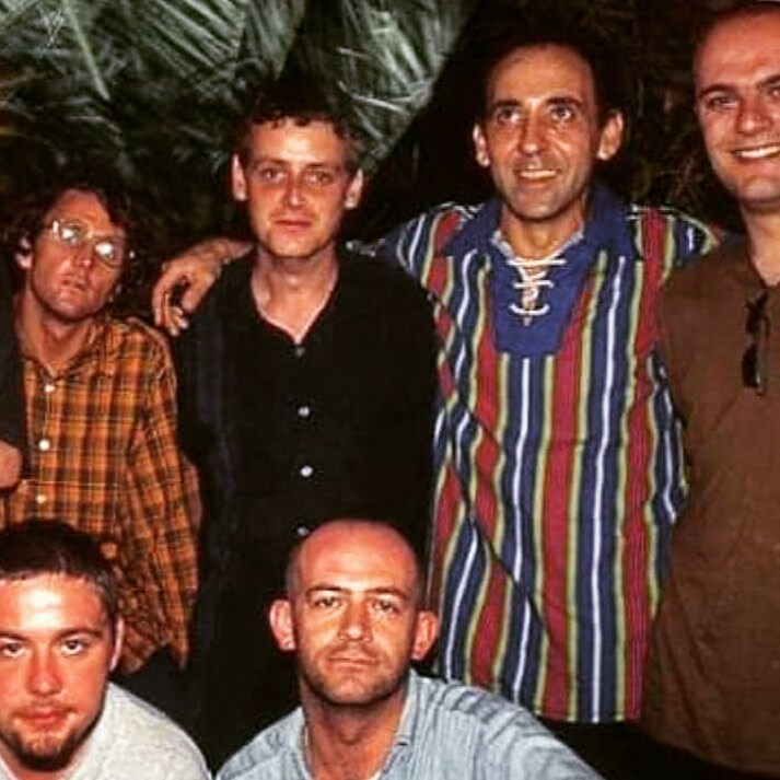 With the late @josepadillaibz as well as @paulbleasdaledj and some other people in #Ibiza a long, long time ago. #ripjosepadilla https://t.co/K97PMDTbKh https://t.co/Lv5b1Ceolw