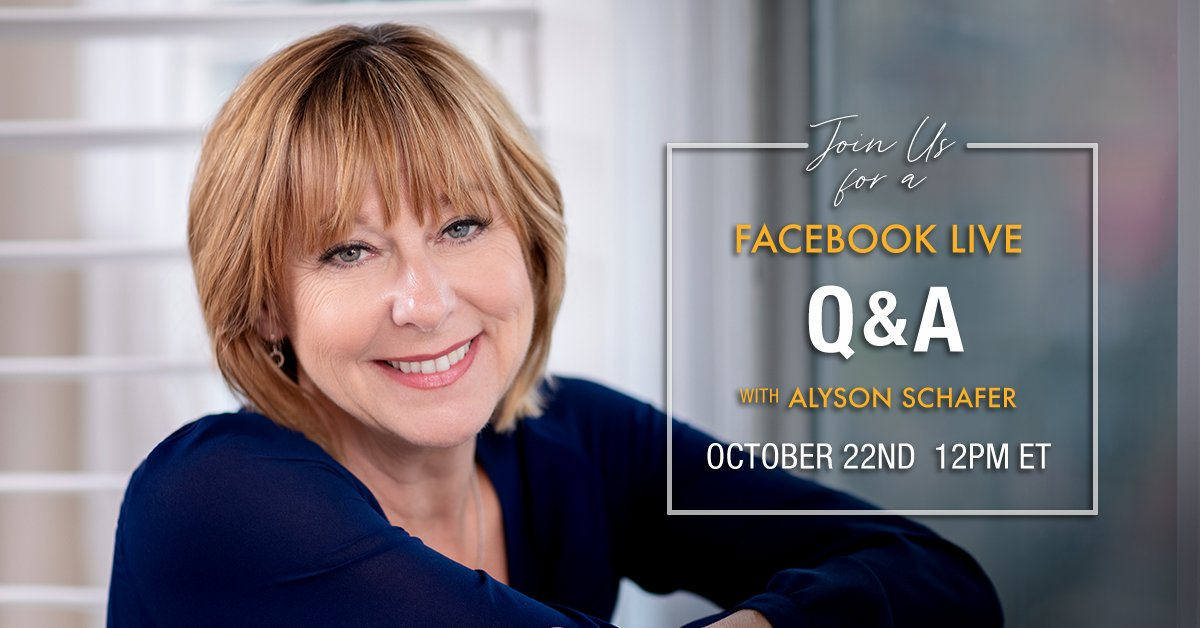 Parents, join me on October 22nd for my next Facebook Live!  Feel free to ask me your burning parenting questions.   RSVP⤵️ https://t.co/O0hgYJd34k #parenting #facebooklive #kids #teens https://t.co/oeCcKAAmXY