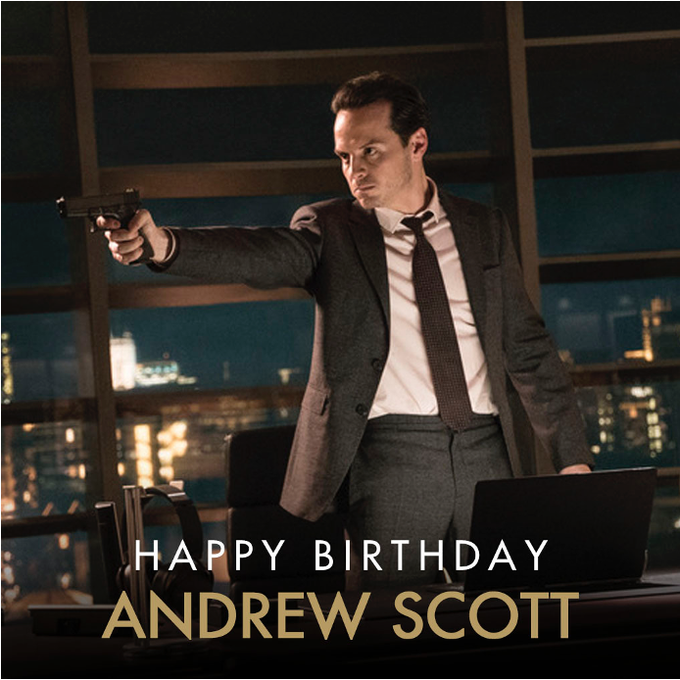 Now we know what C stands for. Cake. Birthday Cake. Many happy returns to Andrew Scott who played C in SPECTRE.