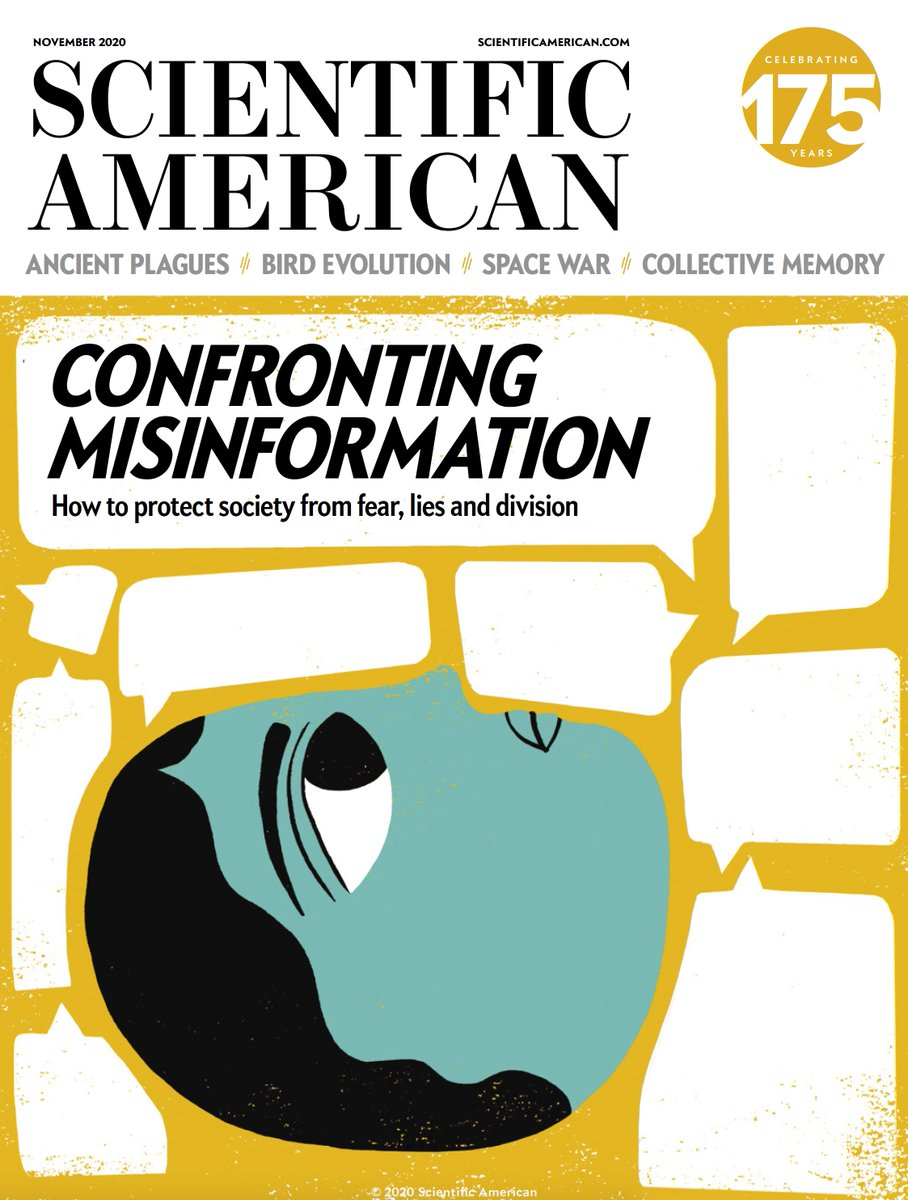 "Eric Topol on Twitter: ""8 major #COVID19 misinformation myths that won't go  away @tanyalewis314 nails it In @sciam's new misinformation issue  https://t.co/deIXj421UZ… https://t.co/GH6wivYjUX"""