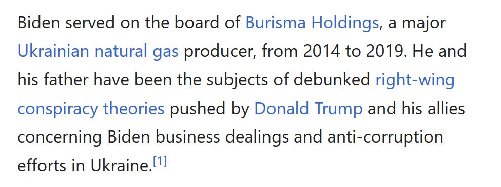 #Wikipedia contributing to the cover-up. #HunterBidenEmails #HunterBiden #JoeBiden https://t.co/ID2PMvBbad