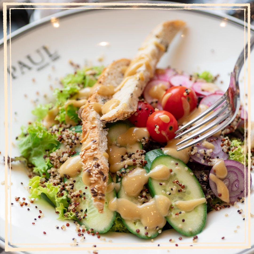 Stay healthy! And get ready for a rich mix of flavors you deserve  #pauljeddah #پول_جدة  #پول #جدة #حلويات #مطاعم #مطاعم_جدة #كافيهات_جدة #مخبز #السعودية #paul #jeddah #SaudiArabia https://t.co/2qIBouDFzf