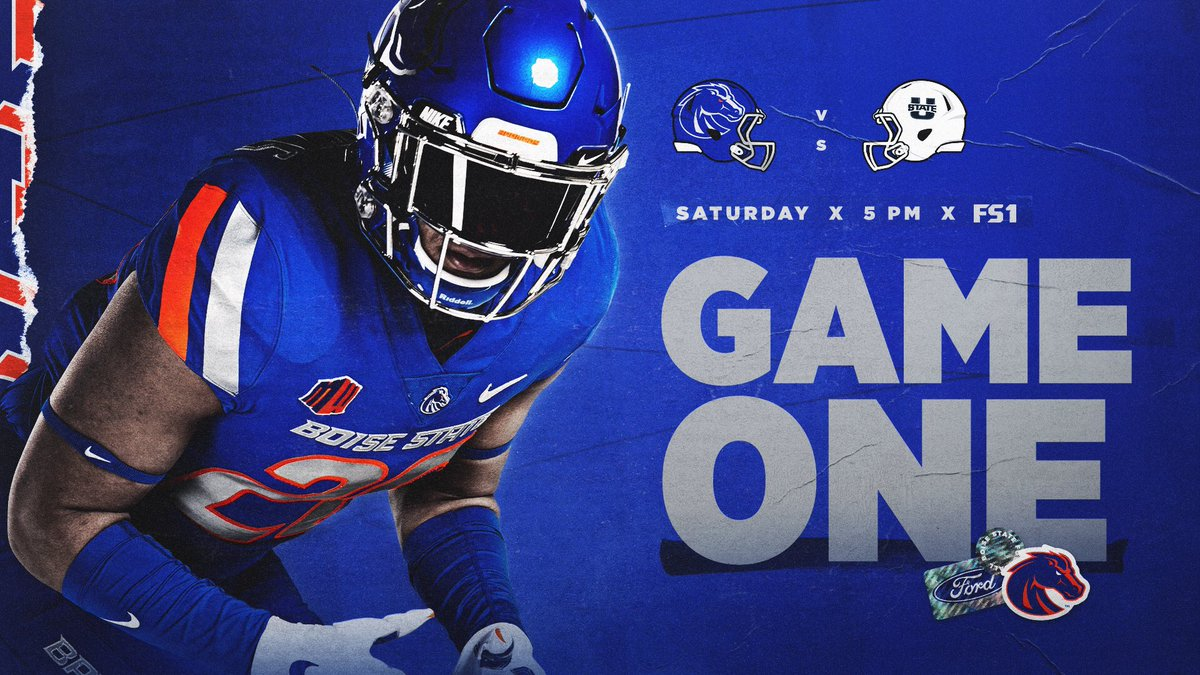 RT @BroncoSportsFB: It's 𝘧𝘪𝘯𝘢𝘭𝘭𝘺 Game Week in Boise‼️  🏈 https://t.co/dNTHL2Ut9T https://t.co/qYUC3yaM4g