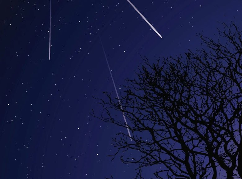 Any early birds (or night owls) out there?The Orionid meteor shower is at it's best tonight, reaching a peak before sunrise tomorrow. #space #nightsky #meteor 📷Getty Images/istockphoto and Earthsky.org