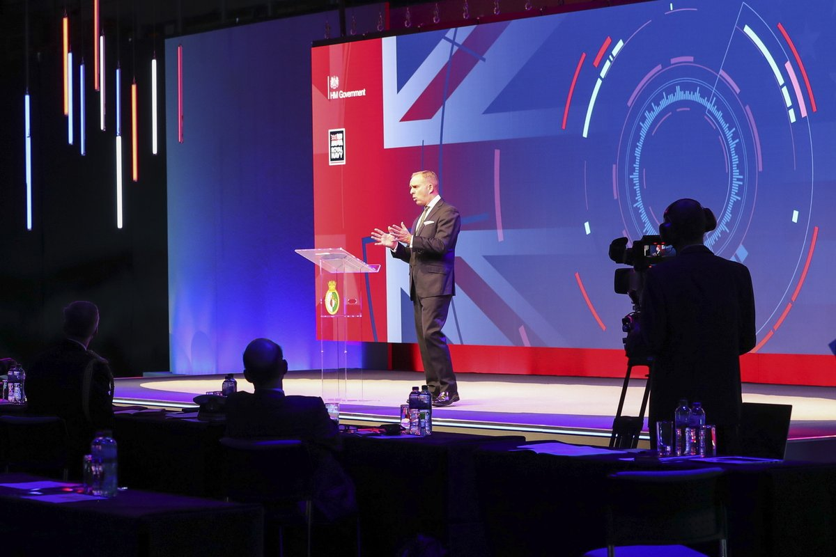 Today was day one of this years Atlantic Future Forum on @HMSQNLZ. The annual event saw senior figures from government and industry join Royal Navy personnel to discuss a range of areas from tackling cyber threats to #UK and #UnitedStates defence #AFForum2020 @FutureAtlantic