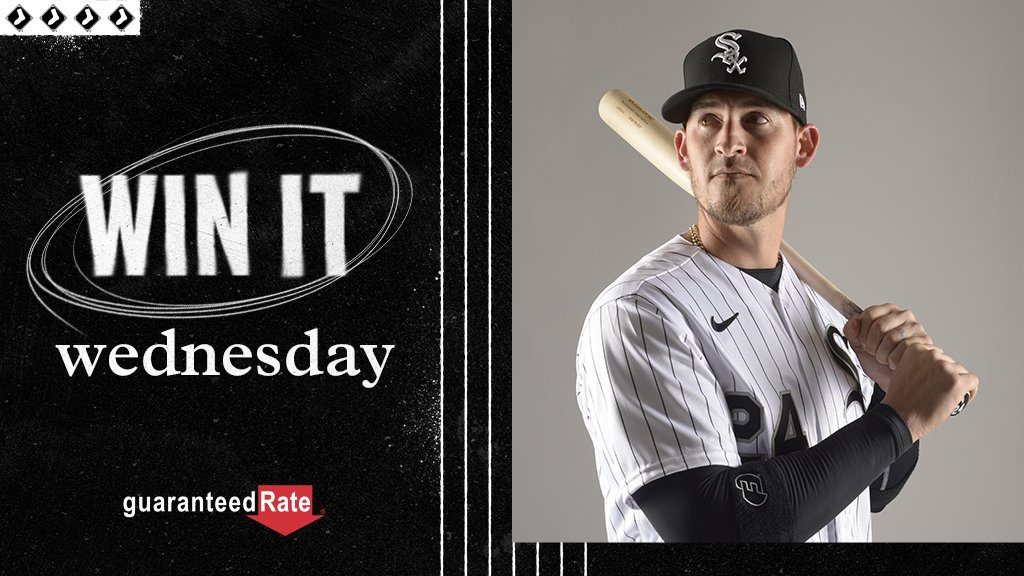 It's Win It Wednesday! RT now for a chance to win a bat signed by Yasmani Grandal. #WhiteSox x @guaranteedrate  No purch. nec. Enter by 11:59 p.m. CT on 10/21/20. Official Rules: https://t.co/930LKQgIoY https://t.co/1OD8hvJee4
