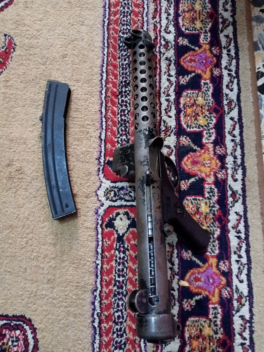 Sterling Mk4 (L2A3) SMG in used condition for sale in #Baghdad #Iraq a few days ago for approximately $150. Great deal.   (13,241 supplied in a 1956-63 Iraqi contract, pre Saddam ofc) https://t.co/dTVw36K6vS