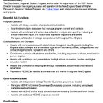 Image for the Tweet beginning: NEBHE is hiring! Interested in