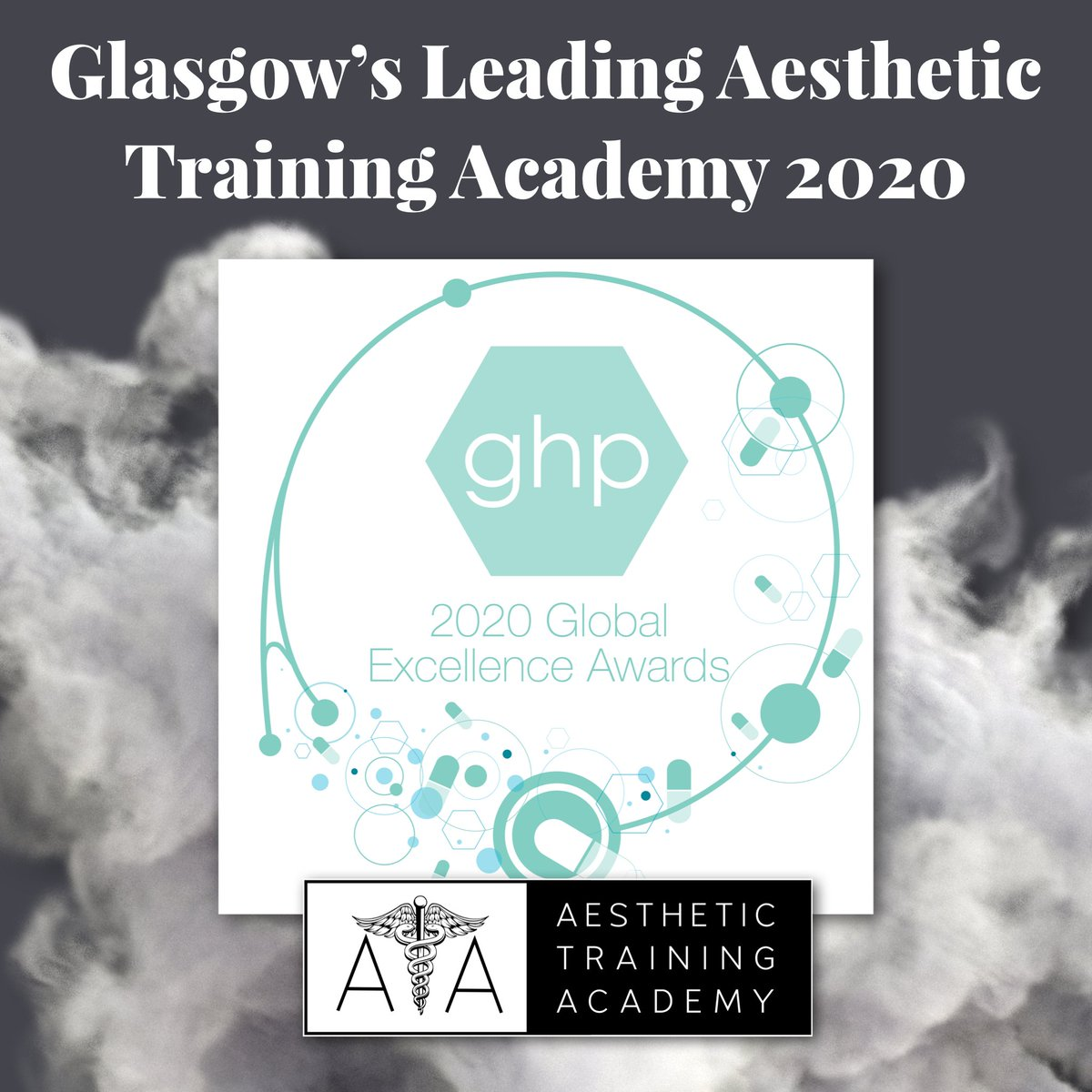"""test Twitter Media - The Aesthetic Training Academy is delighted to have been awarded """"Glasgow's Leading Training Academy - 2020' in the Global Health & Pharma Global Excellence Awards!  To find out more about our courses visit https://t.co/CiLfqw1q9Q https://t.co/LbwnlQGtU3"""