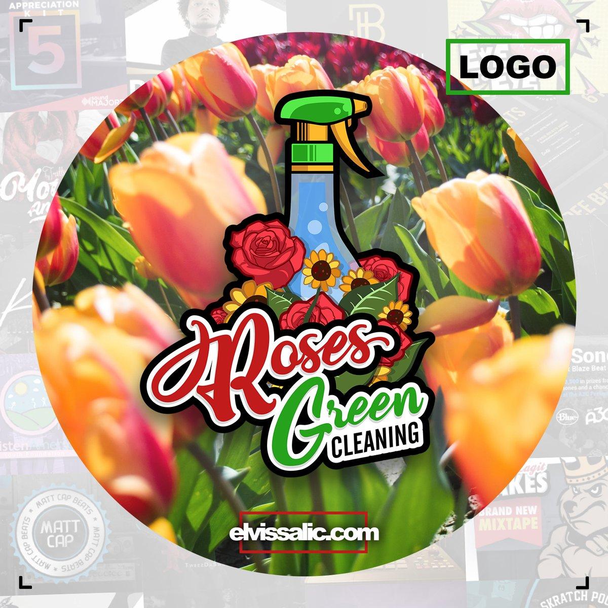Roses Green Cleaning logo development  #graphic #design #graphicdesign #illustrator #vectordesign #brandingdesign #logooftheday #logoinspiration #logodesigner #logocreation #photoshop #illustratordesign #designoftheday #businesslogo #cleaningcompany #identitydesign #cleaning https://t.co/c0frv2bREr