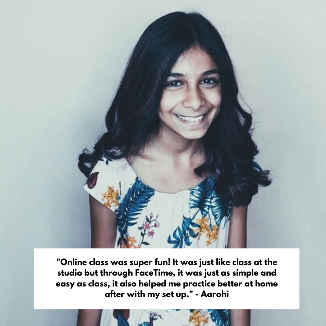 #TestimonialTuesday from studio artist, Aarohi Bhatt talking about why she loves online lessons! Schedule some of your own online lessons! Contact us today at 508-329-5112 or email us at patriceperisvoicestudios@gmail.com    #voicelessons #singinglessons #musiclessons https://t.co/hB1b1uIQSs