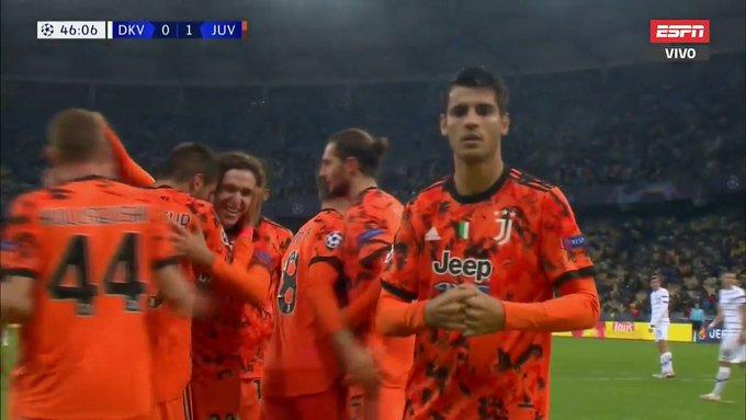 Morata, el primer goleador de la Champions