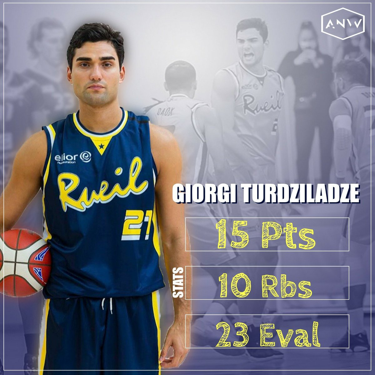 🔥 strong #doubledouble & #efficient perf by #giorgiturdzilaze who added 3blks. One more win #athome for @RacBasket in #nm1  @geobasketball1 @georgianbasket #TheNewWay https://t.co/paomS0DtGj