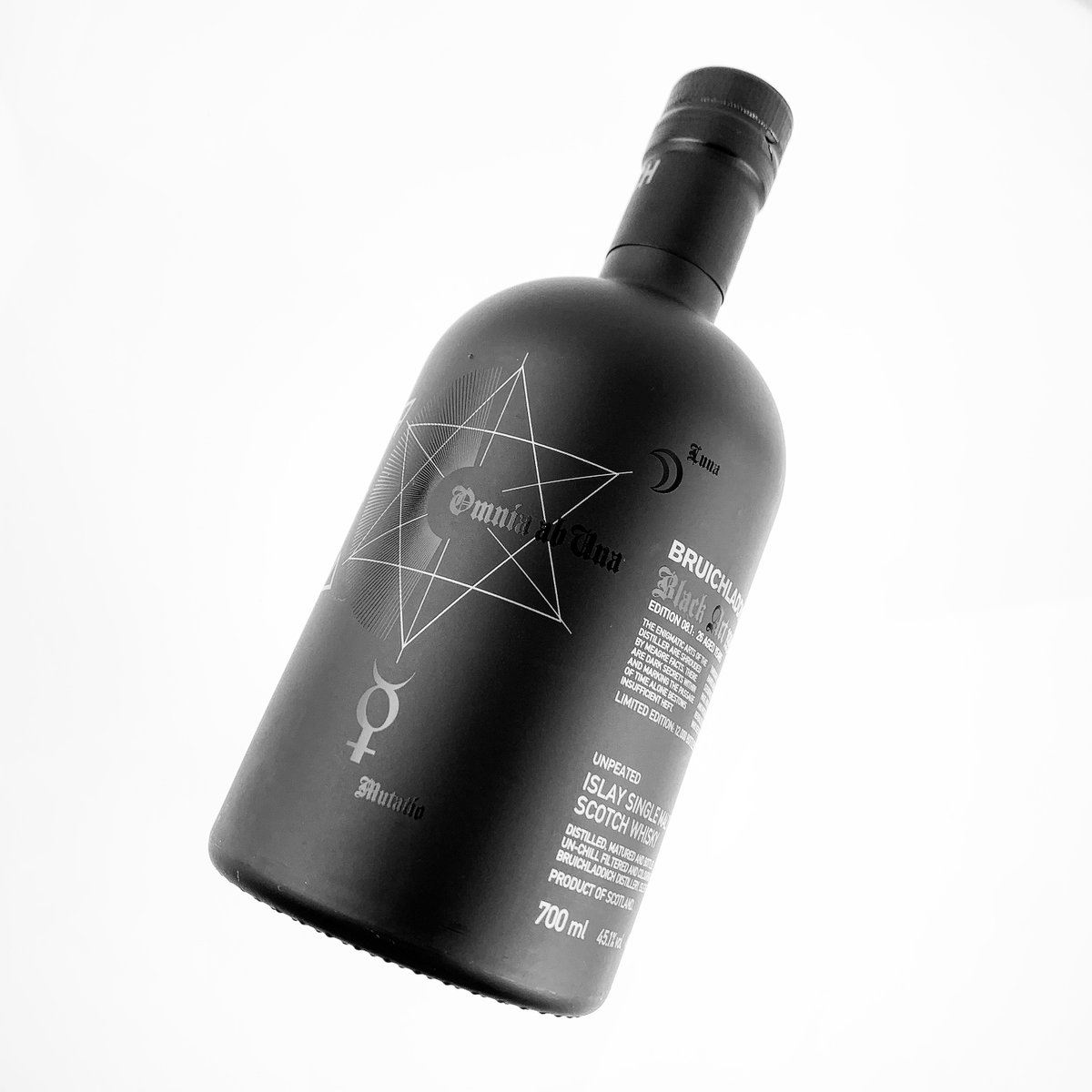 The eighth in the mysterious Black Art series from @Bruichladdich #distillery. Available and ready for dispatch at @abbeywhisky >> £280 with #freeukdelivery  https://t.co/bSVKjuY3T0 https://t.co/4h6e05Qyb0