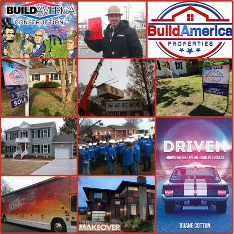 #TT Terrific Tuesday - Build, buy, sell with the right team on your side! @BuildAmerica1 #BuildAmerica Instagram: @BuildAmericaProperties @Duanethebuilder https://t.co/LTWYhQnV4q  https://t.co/ZHN0MELtal  https://t.co/oxNeq5YR0l #ExtremeMakeoverHomeEdition #DuaneCotton #Driven https://t.co/ek0p7HnyvS