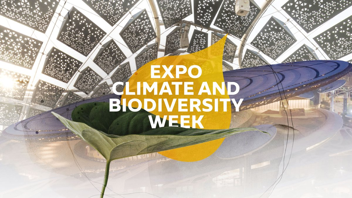 Sustainable architecture and the restoration of our oceans were just a few of the topics discussed on Day One of Expo's Climate and Biodiversity Week 🌱. Join us again tomorrow to discover more solutions for a healthier planet. Visit https://t.co/ktWfEiGMrL #Expo2020 #Dubai #UAE https://t.co/ZrjGwTbJx4
