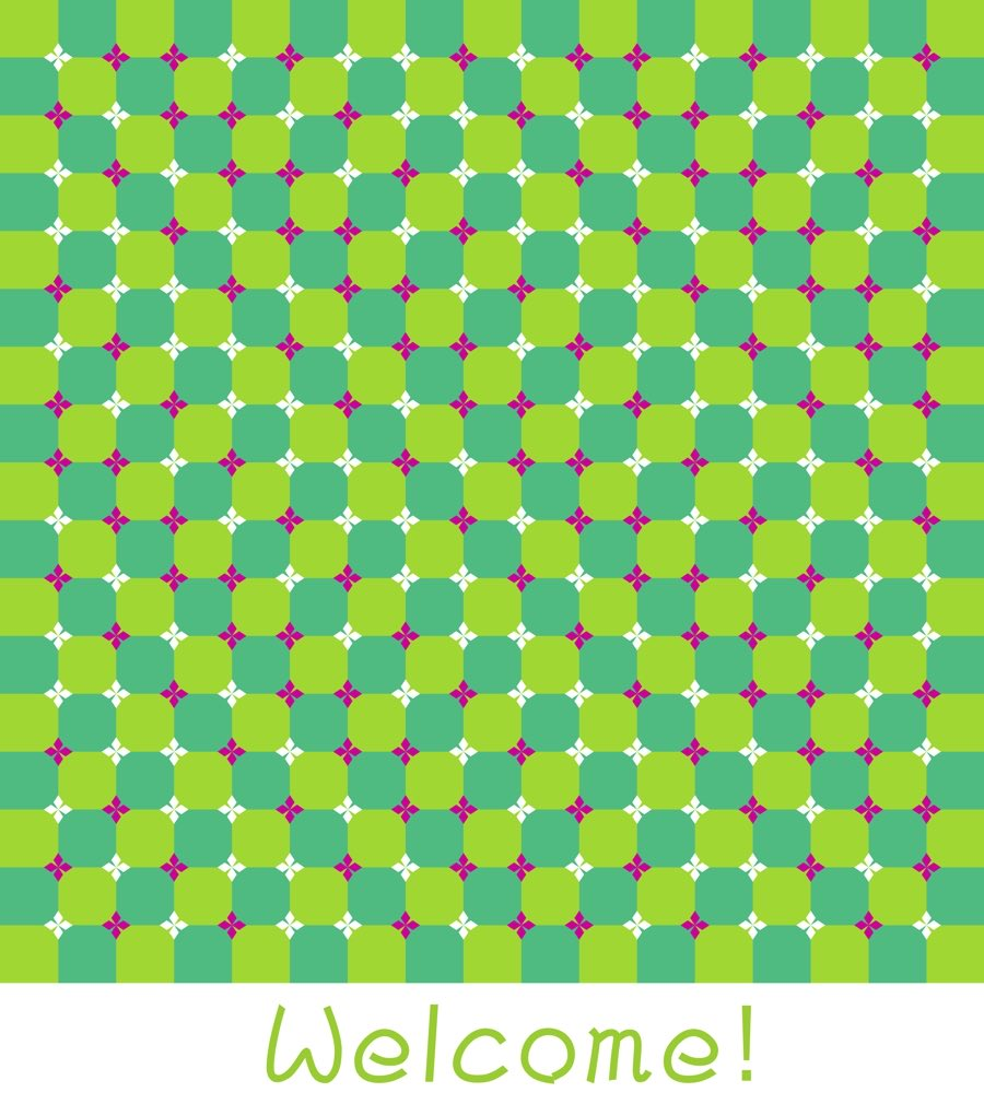The image appears to wave.
