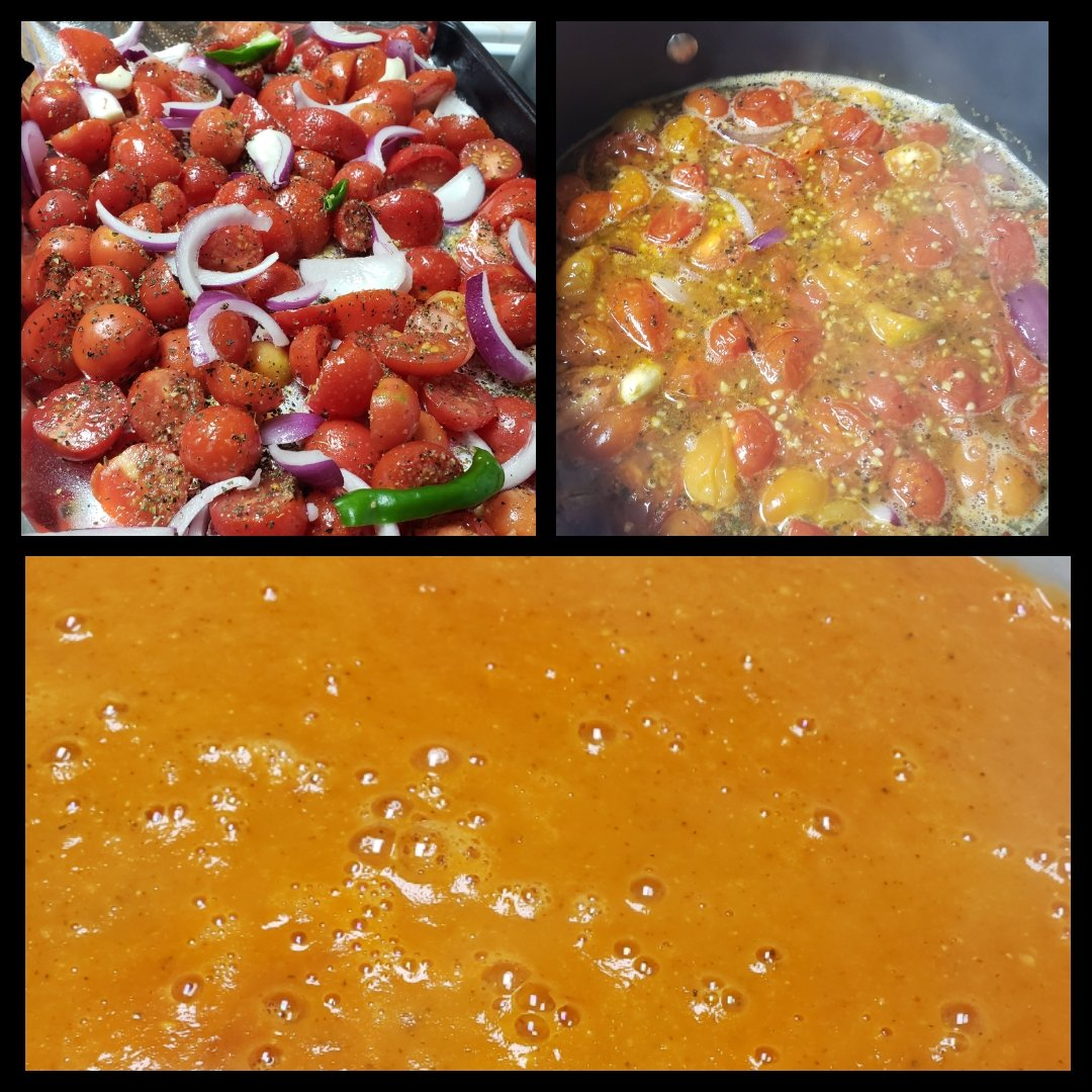 Homemade tomato soup from the last of the tomatoes in my garden. #homemade #gardening #GardenNerd #Soup #tomatoes #roastedveggies https://t.co/0x46IxkyA9