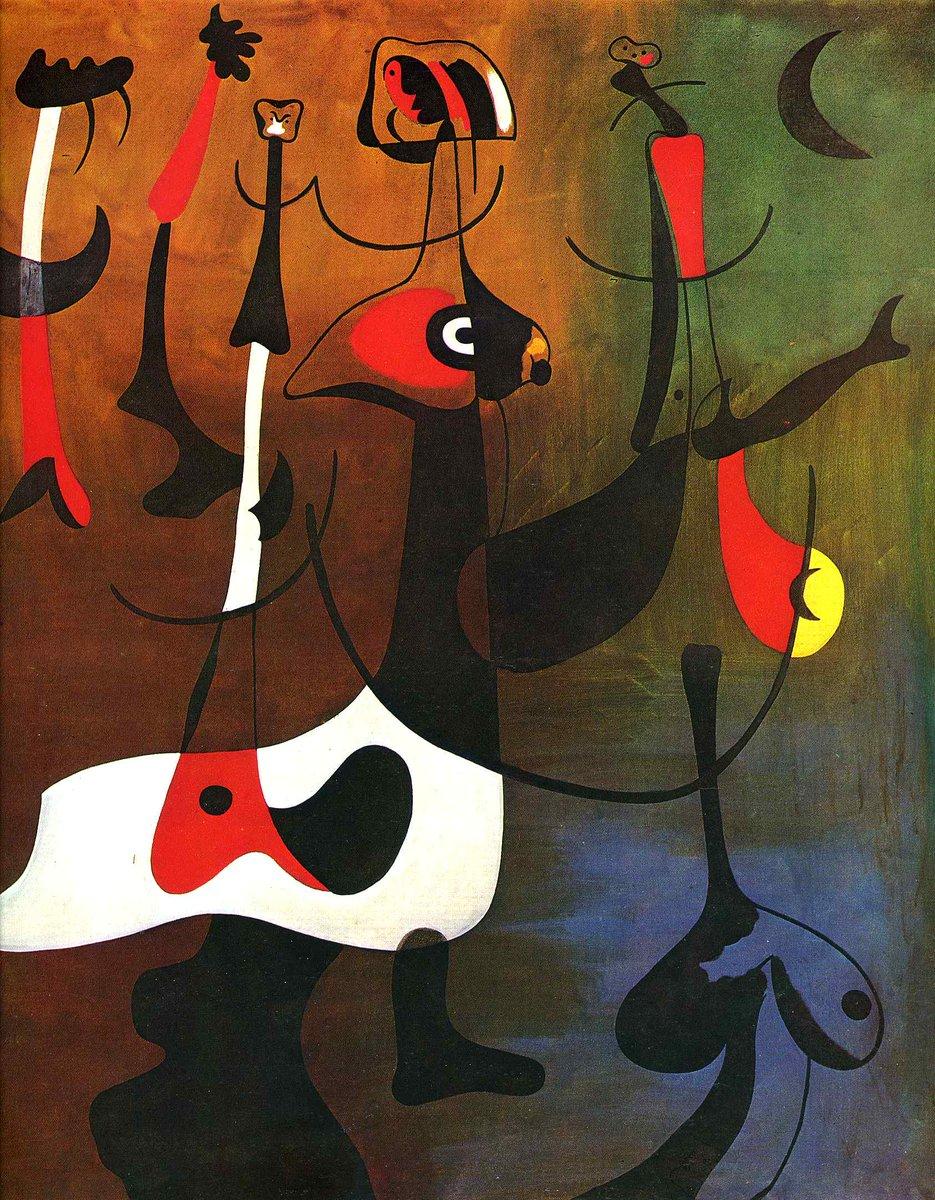 Rhythmic Characters, 1934 https://t.co/PBXfBnyyhU #joanmiro #surrealism https://t.co/u349Wa9QQS