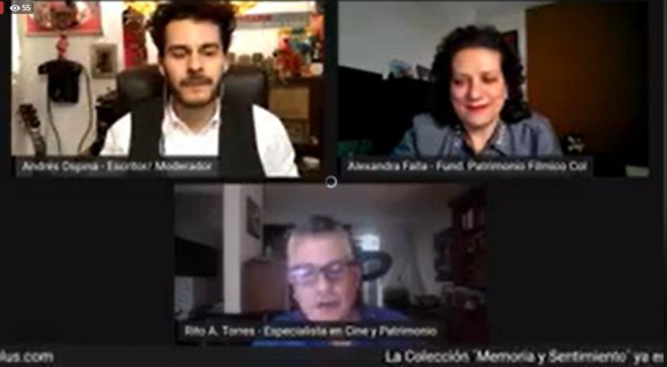 #MemoriaYSentimiento Termina el conversatorio sobre las películas colombianas de la década del 60 que hacen parte de la colección en @cinecoplus: Mares de Pasión, Isla de Ensueño, Cada Voz Lleva su Angustia y Bajo la Tierra.  Pueden verlas online en: https://t.co/KuTmOuk61z https://t.co/Dqj5MHTZRz