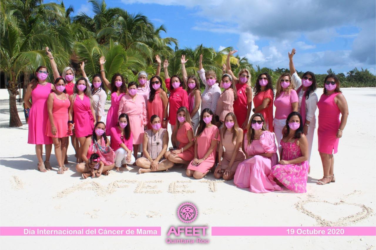 La Asociación Femenil de Ejecutivas de Empresas Turísticas (AFEET) capítulo Quintana Roo.