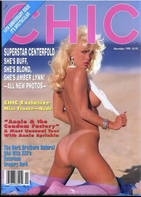 #TST #CHIC Superstar Centerfold- She's Buff, She's Blond, She's AMBER LYNN'! #Chic #AmberLynn https://t