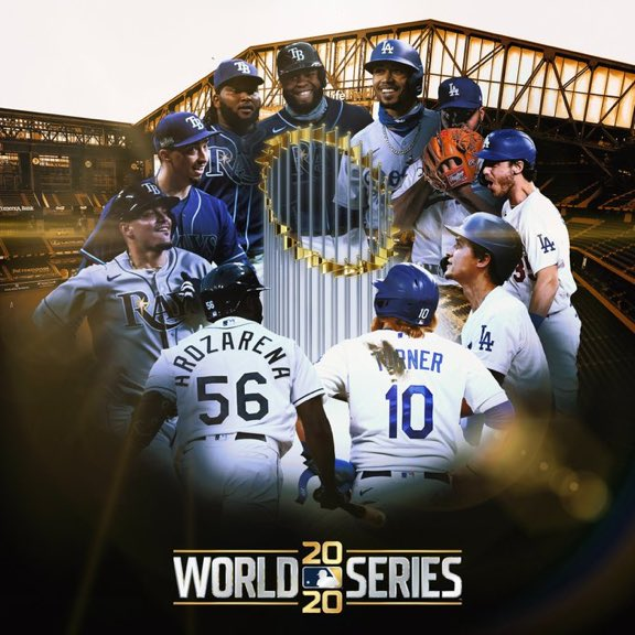 No bubble, numerous positive tests, shaky start, against the odds and yet somehow MLB has miraculously made it to the #WorldSeries. #dodgers #rays https://t.co/dhQvZB4Afh