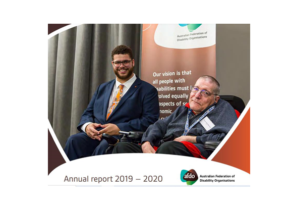 Our 2019-20 Annual Report is now available on our website.  For an overview of our work including:   ● #advocacy and #policy work ● #DisabilityRC ● #NDIS ● and other #disability and #HumanRights work & info  Read our Annual Report at:  https://t.co/gZ74Tk9qs4 https://t.co/7tDAPZM2U1