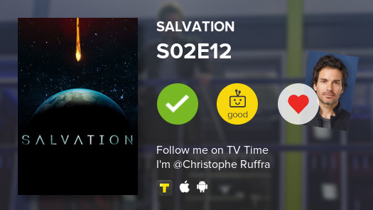 I've just watched episode S02E12 of Salvation! #salvation  #tvtime https://t.co/8SDeNDSk95 https://t.co/R7TYiGQXKC