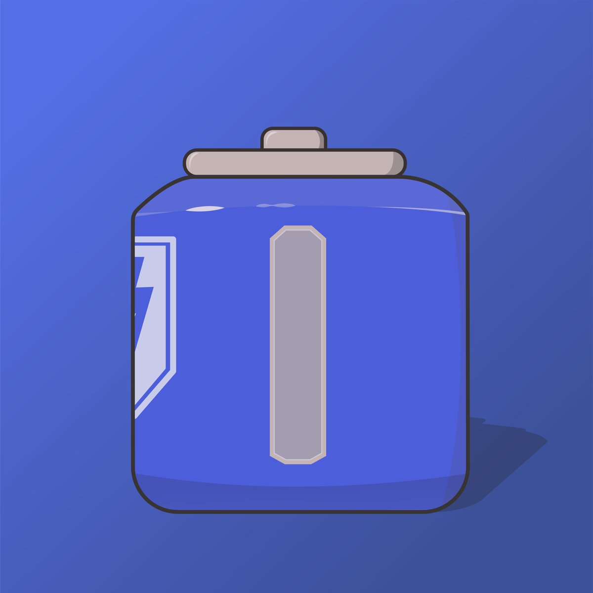 Here's the final version of the shield cell from apex! I have some cool new ideas coming so be sure to be on the lookout for them!!  . . . #apexlegends #apex #apexlegendscommunity #apexfanart #fanart #game #gameart #vector #clean #gradient #blue #illustration #illustrated https://t.co/QpXU7JQNge