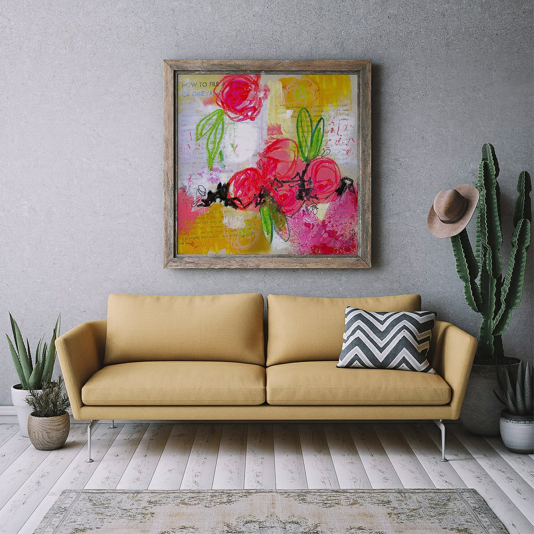 """""""How to File a Claim"""" prints, canvas and more available. See LINK IN BIO (https://t.co/dzzA7FTuUn) or https://t.co/nnwEe79OpP > purchasing for options. #art #painting #floral https://t.co/v5hN6TgVTr"""