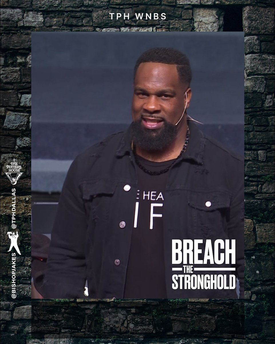 Ready for your breakthrough to happen? Breach through all you've struggled with and chase your breakthrough! Subscribe to our official YouTube channel for #BreachTheStronghold by Pastor @JoelTudman: YouTube.com/TDJakesOfficial #TPHDallas #WNBS