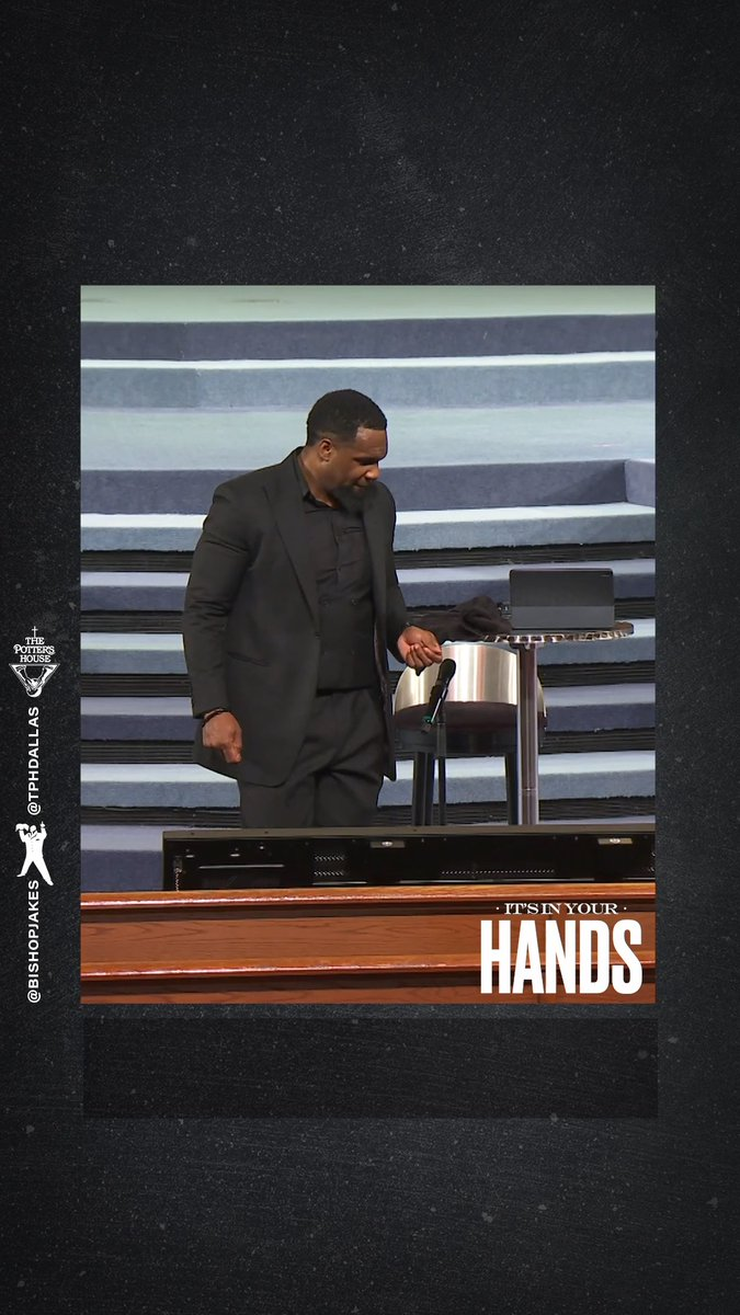 As you examine the intricacies of your heart, what stubborn residue do you need to remove? Subscribe to my official YouTube channel at YouTube.com/TDJakesOfficial to watch the rebroadcast of #ItsInYourHands by Pastor @JoelTudman. #TDJOnline