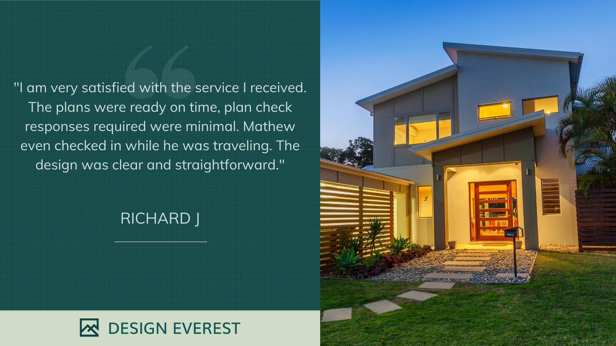 See what Richard is saying about his fantastic project delivered with the help of DE Plans! Thanks, Richard. Hear from more customers at https://t.co/lVMk2ZLvzX  #project #design #architecture #residential #commercial #remodel #engineering #teleconstruction #building #California https://t.co/I7xClrdrmx