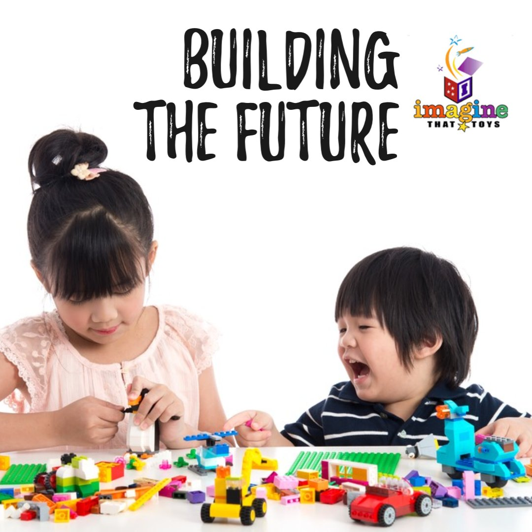 Thanks for including us to help build the future. We love all of the pictures you share of your kids using toys from Imagine That Toys. What are you playing with today?   #imaginethattoys #lego #building #future #sharing https://t.co/aMCfb3sWQu